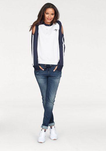 KangaROOS Sweatshirt, mit Cut-Outs an der Schulter