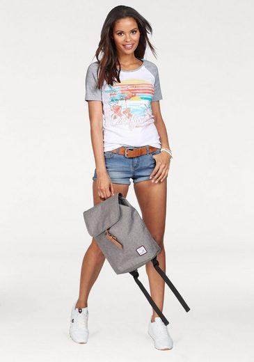 KangaROOS T-Shirt, mit extragroßem Front-Print
