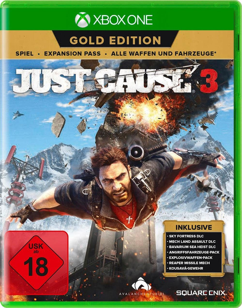 Just Cause 3 Gold Edition Xbox One, Software Pyramide