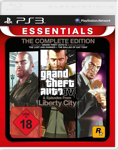 Grand Theft Auto IV Complete Edition PlayStation 3, Software Pyramide