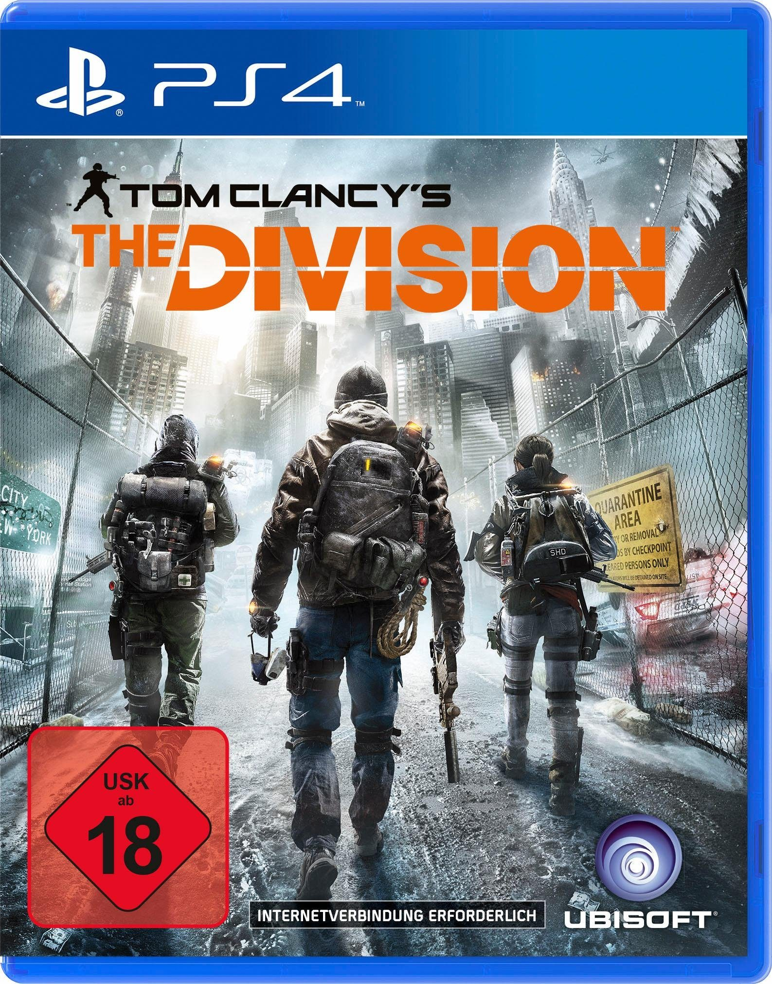 Tom Clancys The Division PlayStation 4, Software Pyramide