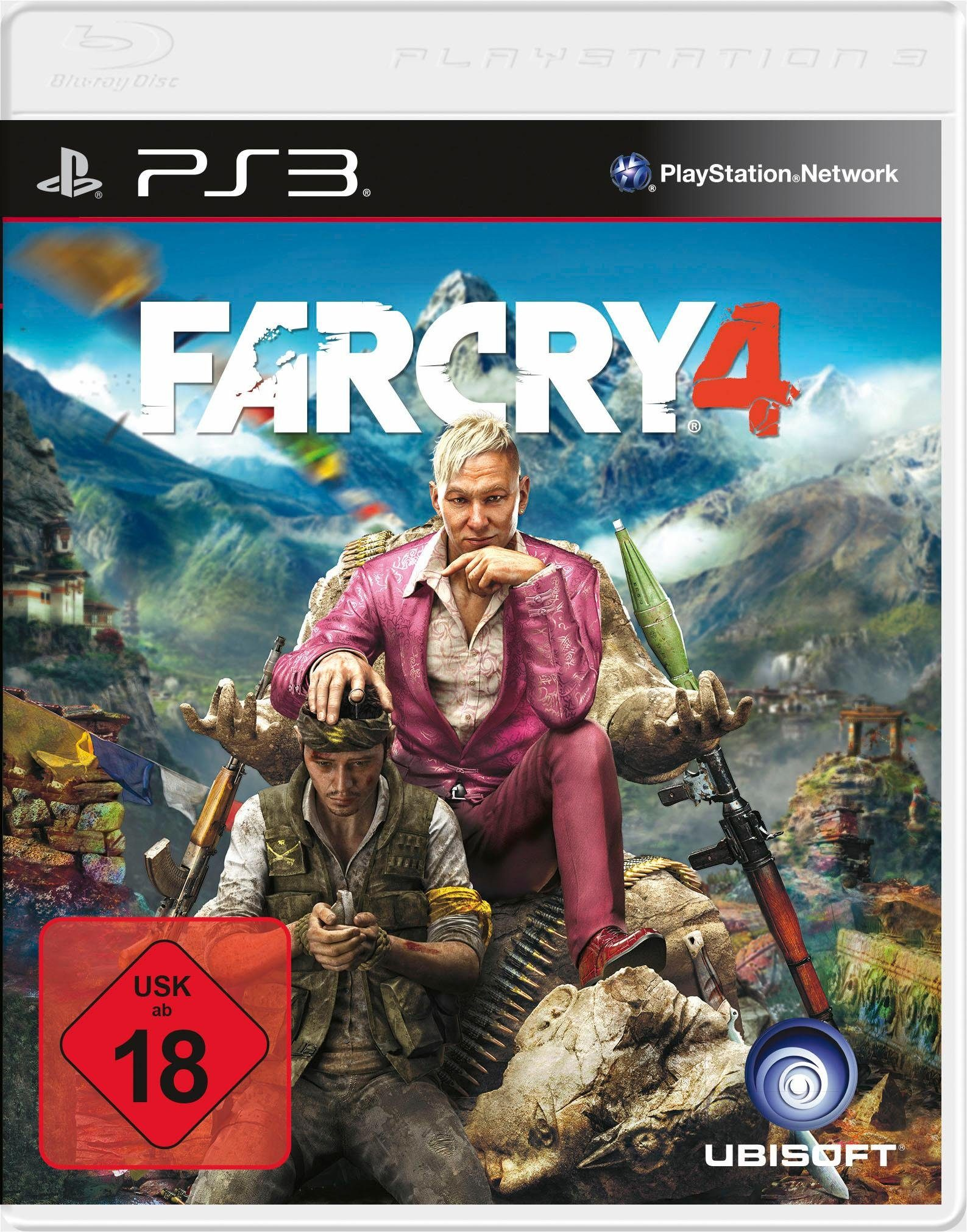 Far Cry 4 PlayStation 3, Software Pyramide