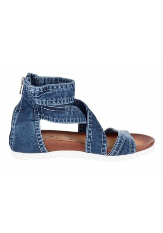 ANDREA CONTI Босоножки в имитация джинса
