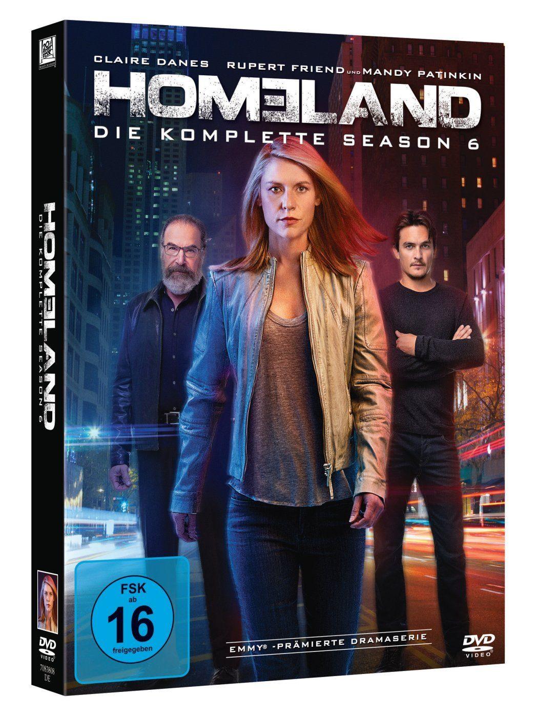 Fox Homeland - Season 6 »DVD«