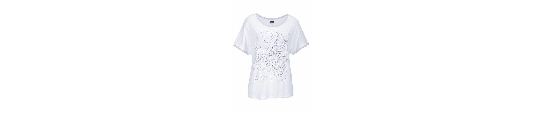 Laura Scott T-Shirt, mit tollem Stern aus Nieten