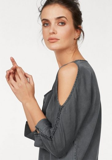 CLAIRE WOMAN Off-Shoulder-Kleid, Cold-Shoulder