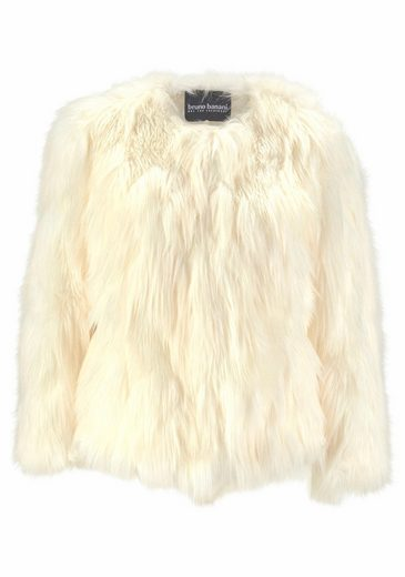 Bruno Banani Fellimitatjacke, Faux-Fur