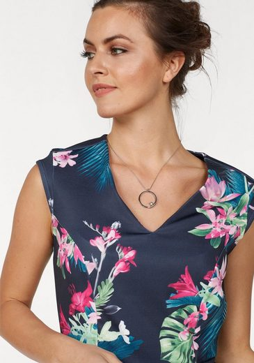 Laura Scott Etuikleid, mit trendigem Blütenprint