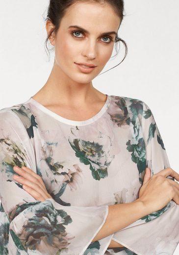 Blouse Imprimée Femme Claire, Avec Imprimé Floral