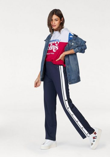 TOMMY JEANS Rundhalsshirt, im Colourblocking