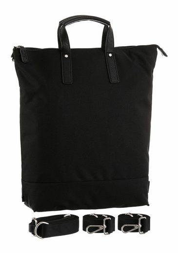 Jost Henkeltasche BERGEN XCHANGE, 3-in1 Bag mit gepolstertem Laptopfach