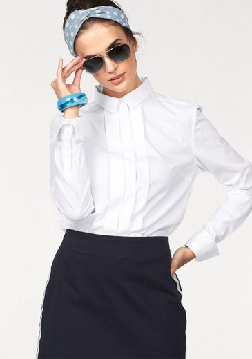 CLAIRE WOMAN Hemdbluse, mit verdeckter Knopfleiste