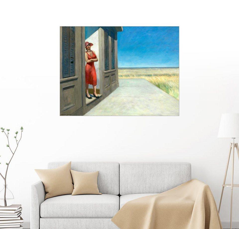 Posterlounge Wandbild - Edward Hopper »South Carolina Morgen« online ...