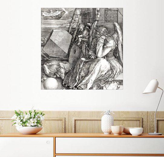 Posterlounge Wandbild - Albrecht Dürer »Melancholie«