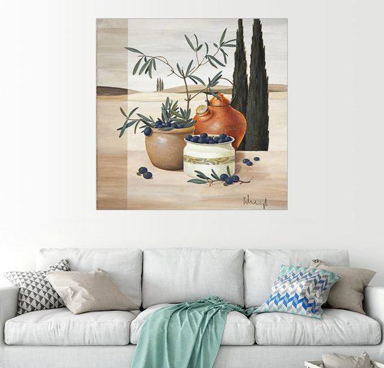 Posterlounge Wandbild - Franz Heigl »Olivenernte«