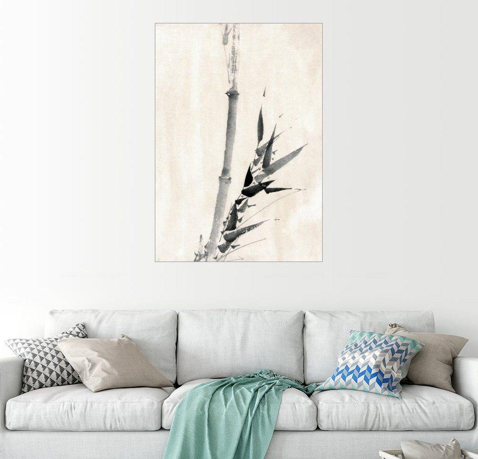 Posterlounge Wandbild   Katsushika Hokusai »Japanischer Bambus«