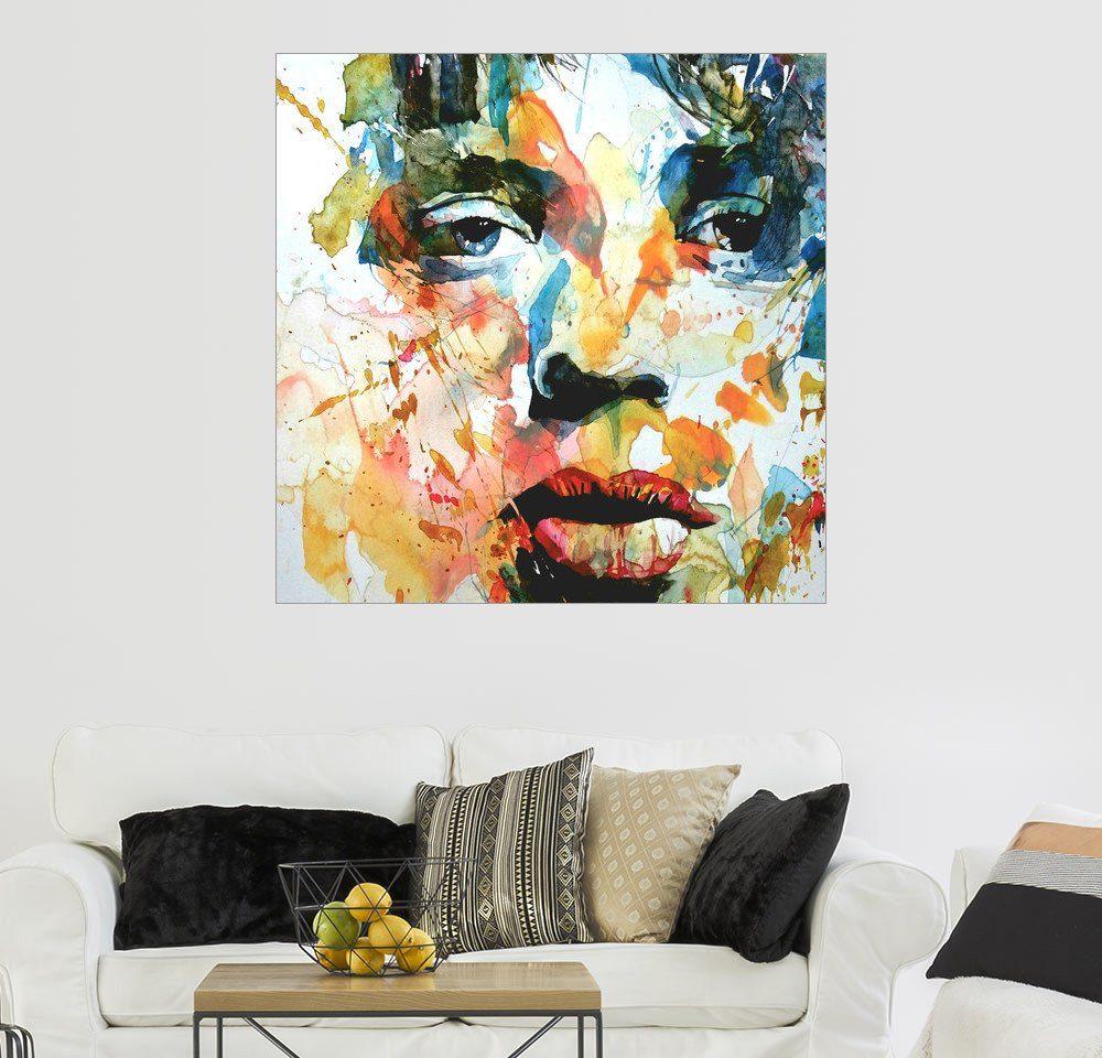 Posterlounge Wandbild - Paul Paul Lovering Arts »Mick Jagger«