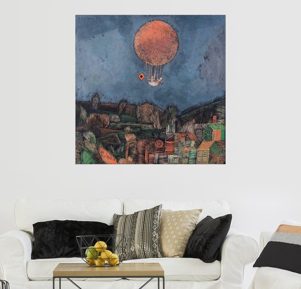 Posterlounge Wandbild - Paul Klee »Der Luftballon«