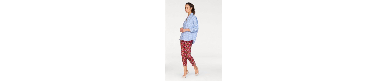 MAC 7/8-Jeans Dream Chic, REißverschluss am Saum