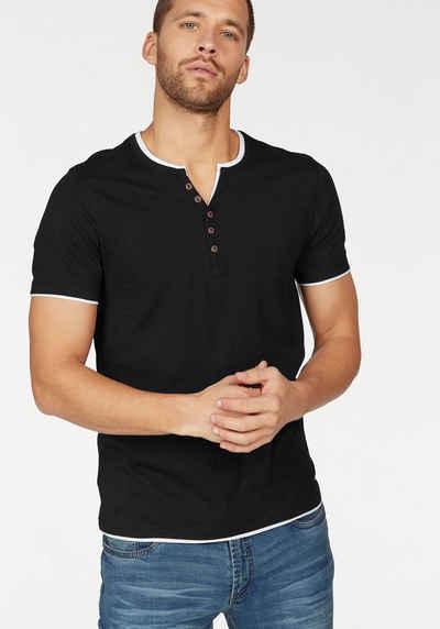 new concept 82293 e6463 T-Shirt mit Knopfleiste für Herren kaufen » Henleyshirt | OTTO