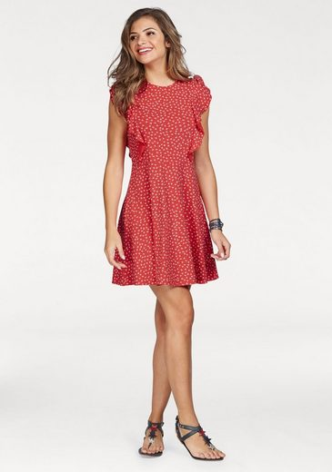 People Tree Jerseykleid Lulu, mit tollem Streublumen-Alloverprint