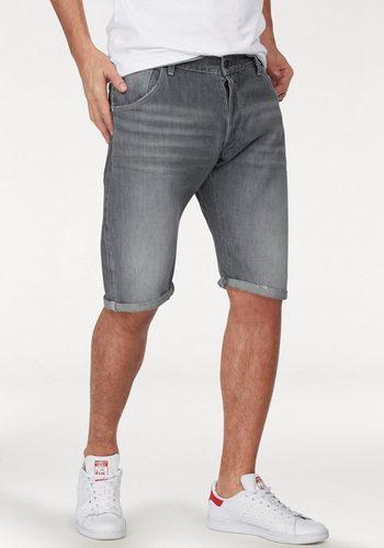 Herren G-Star RAW Jeansshorts ARC 3D SHORT Destroyed-Details grau | 08719368711450
