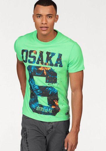 Superdry T-shirt Osaka Hibiscus Infill Tee