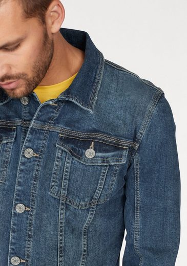 Blend Jeansjacke, mit Destroyed-Effekten