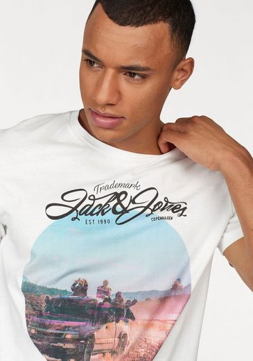 Jack & Jones T-Shirt JOR ROADY TEE SS CREW NECK ART