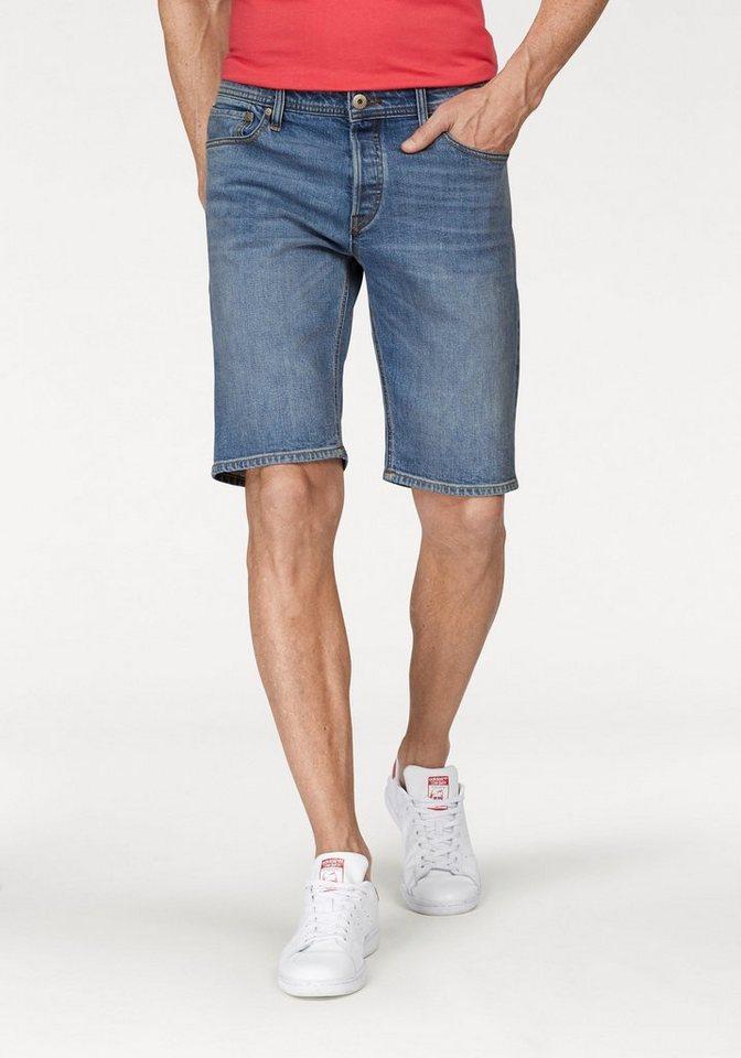 Jack & Jones Jeansbermudas »RICK« | Bekleidung > Shorts & Bermudas > Jeans Bermudas | Blau | Jack & Jones