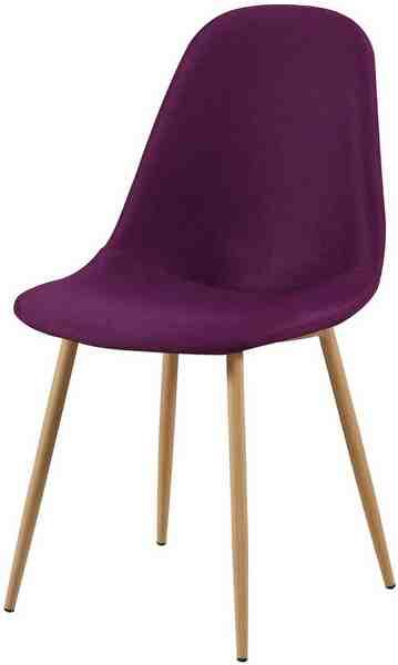 SIT Stühle im 2er-Set, Kombiniert mit ausgestellten Buchenholz-Beinen
