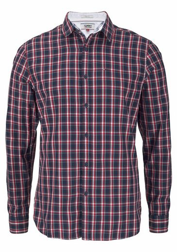 TOMMY JEANS Karohemd TJM ESSENTIAL CHECK SHIRT