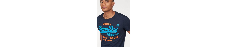 Superdry Rundhalsshirt SHIRT SHOP DUO LITE TEE Brandneue Unisex Günstig Online Outlet Bequem Freies Verschiffen Neue Ankunft Steckdose Kostengünstig 28GHRZ4Fh4