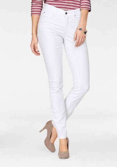 MAC Skinny-fit-Jeans »Dream Skinny« Hochelastische Qualität sorgt für den perfekten Sitz