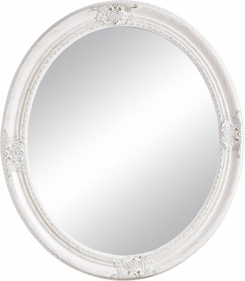 home affaire spiegel oval wei online kaufen otto. Black Bedroom Furniture Sets. Home Design Ideas