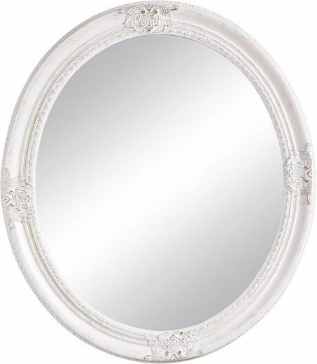 Home affaire Spiegel »Oval Weiß« (1-St)