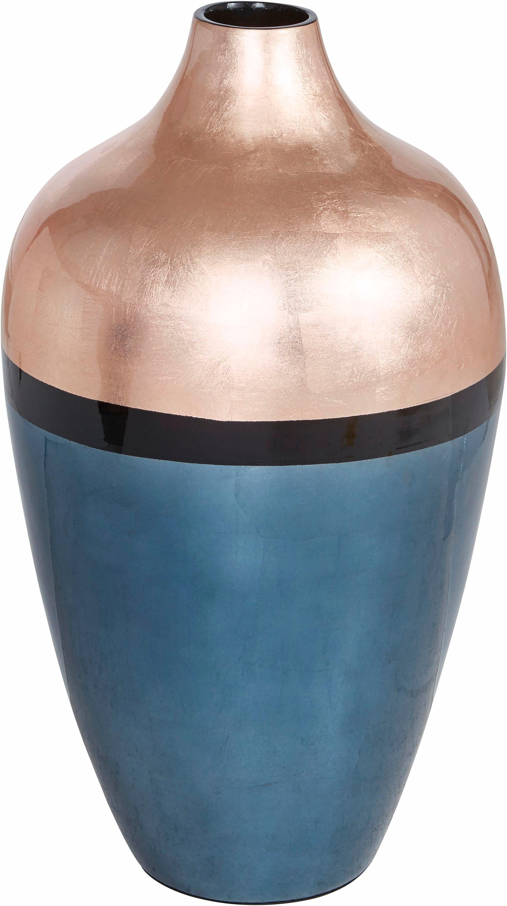 Home affaire Vase »Metallic gold«, Höhe 55 cm