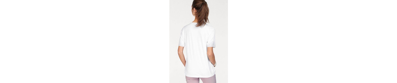 V an Clarina mit Shirt und Ausschnitt Shirt Dekopl盲ttchen V 脛rmel dOnO74qg