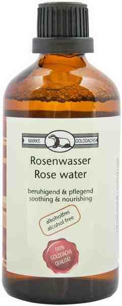 Golddachs, »Rosenwasser«, Gesichtspflege
