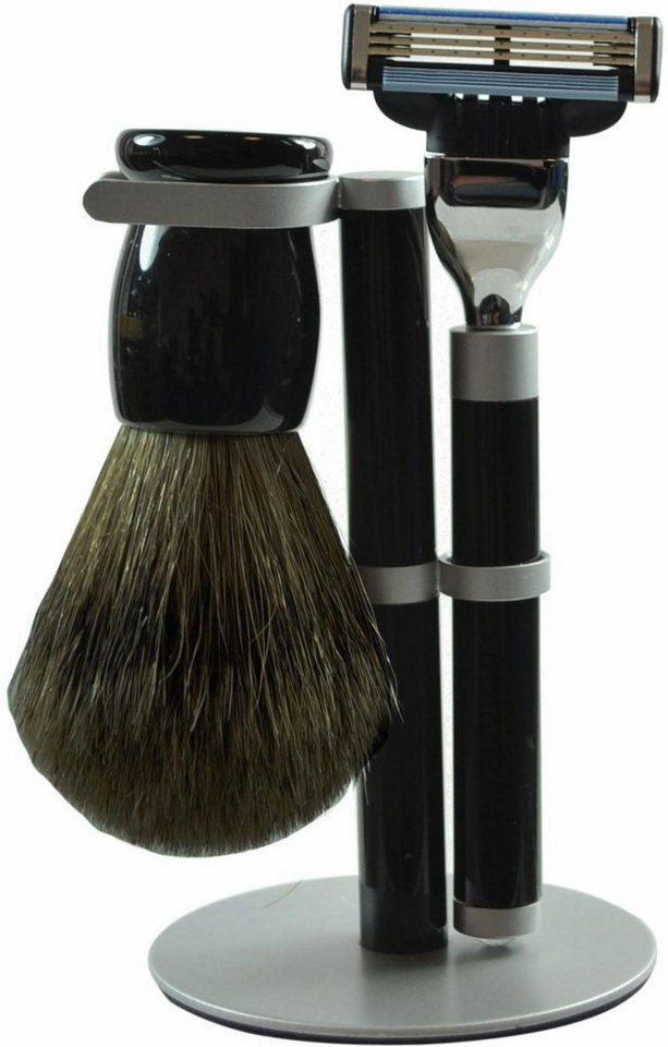 golddachs rasierset mit rasierer und pinsel stockhaar 2 tlg online kaufen otto. Black Bedroom Furniture Sets. Home Design Ideas