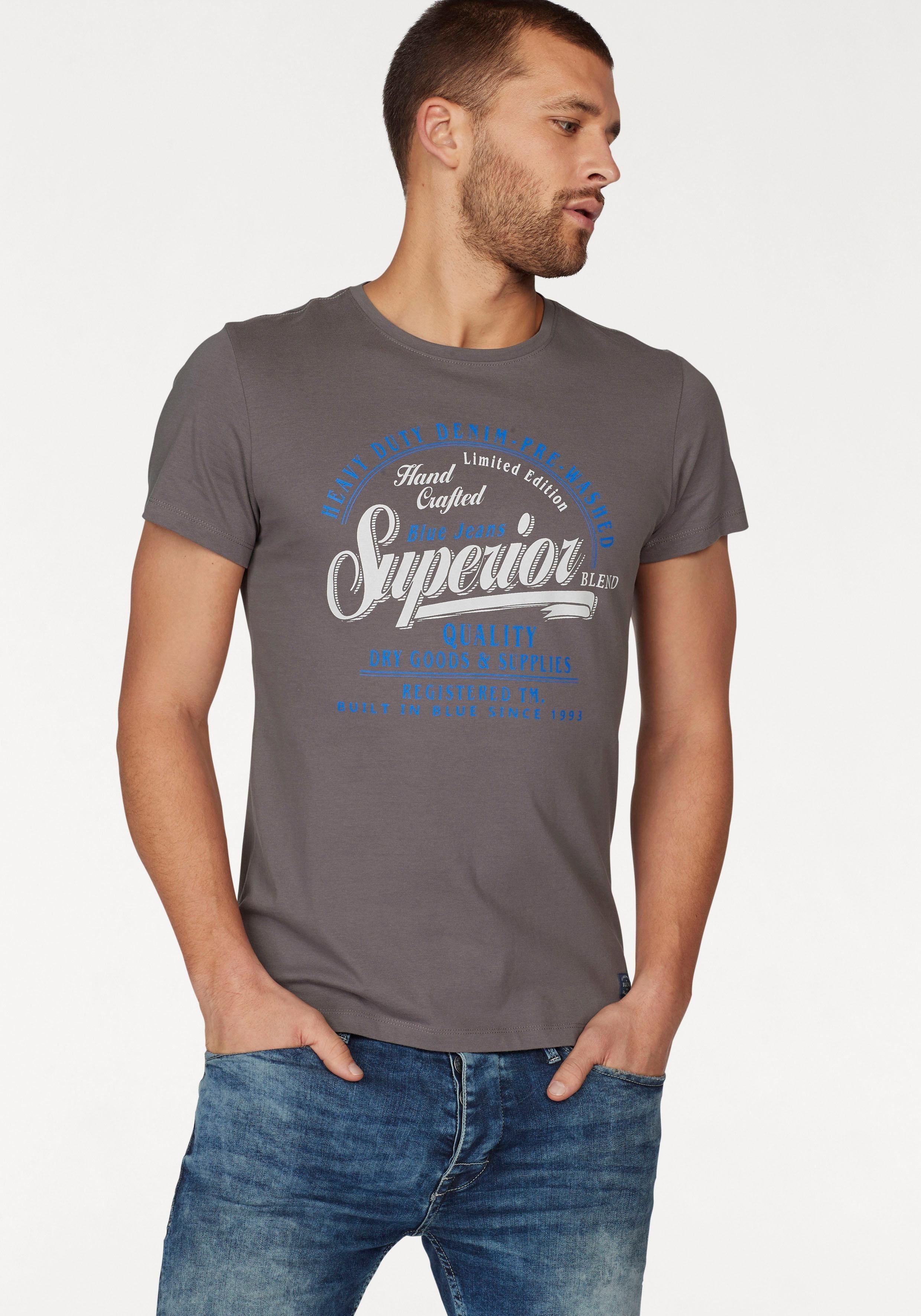 Blend T-Shirt mit Frontprint