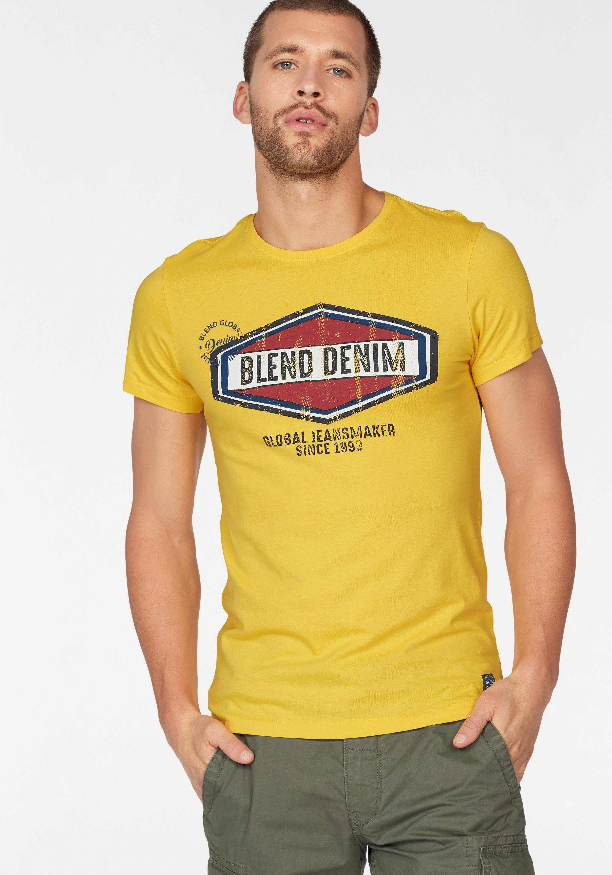 Blend T-Shirt im Retro-Look