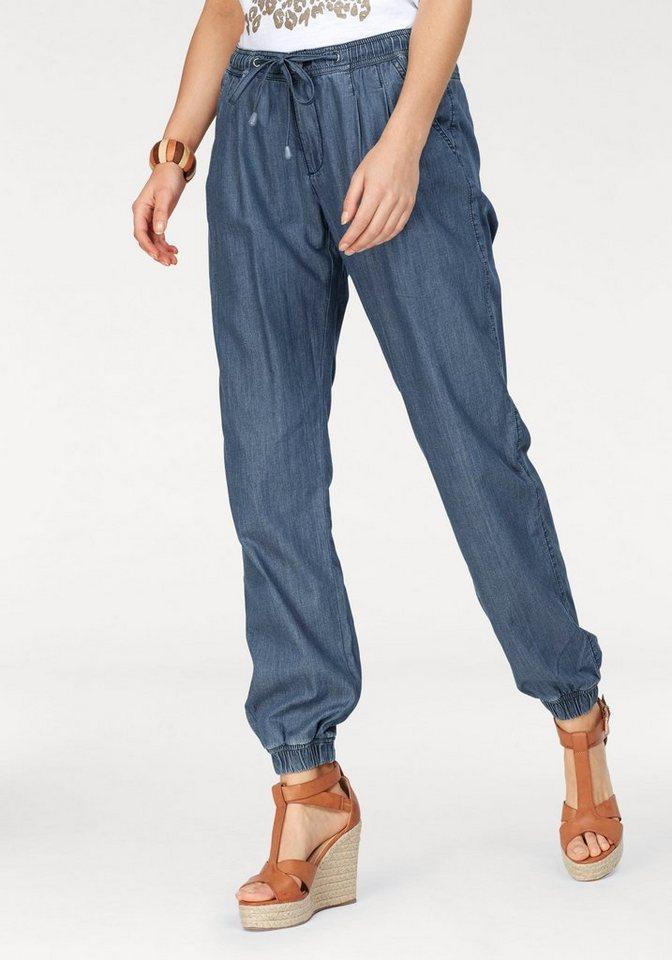 STOOKER WOMEN Straight-Jeans Jogg-Hose mit elastischem Bund und Gummizug am  Saum in 1c630233ae