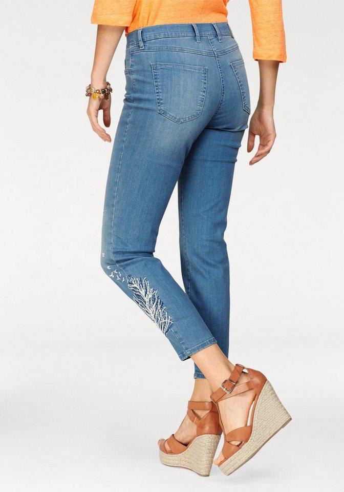 toni skinny fit jeans perfect shape skinny 7 8 l nge mit stickerei online kaufen otto. Black Bedroom Furniture Sets. Home Design Ideas