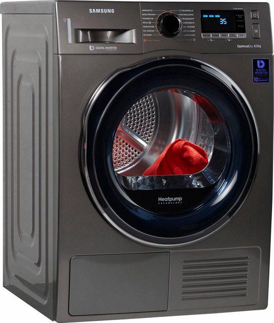 Samsung Wärmepumpentrockner DV6800 DV81M6210CX/EG, 8 kg | Bad > Waschmaschinen und Trockner | Samsung