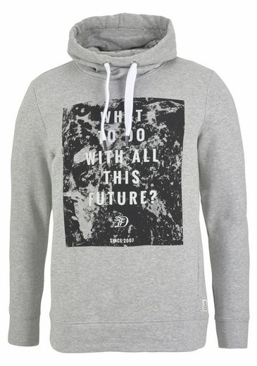 Tom Tailor Denim Kapuzensweatshirt, mit Fronprint