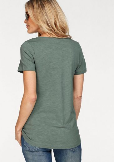 Crew-neck Shirt Stooker Women, With Statement-pressure