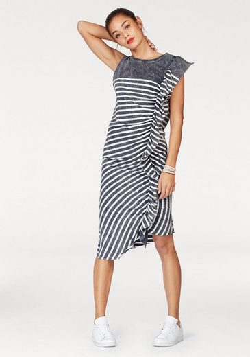 Cotton Candy Jerseykleid Elina, im Streifen-Design