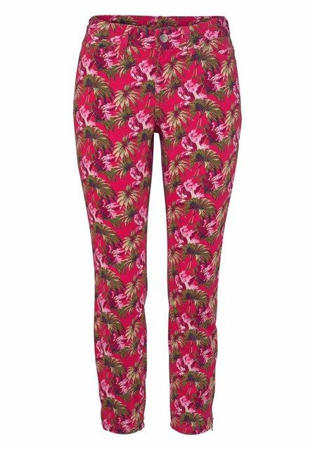 MAC 7/8-Jeans »Dream Chic« REißverschluss am Saum | Bekleidung > Jeans > 7/8-Jeans | MAC