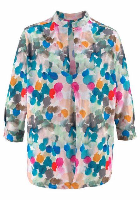 TIMEZONE Tunikashirt Shirt-Tunika im Blusenstil mit Stehkragen und 3-4-Ärmel | Bekleidung > Shirts > Tunikashirts | Timezone